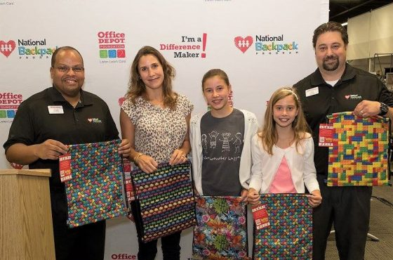 Children's Back-to-School Packs Donated