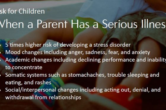 Risks for Children with an Ill Parent