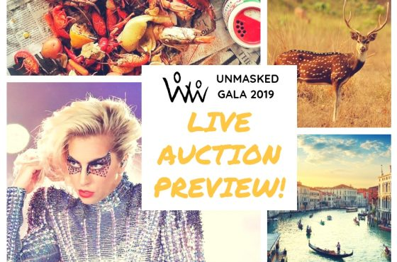 You'll go Ga-Ga over these Live Auction Packages
